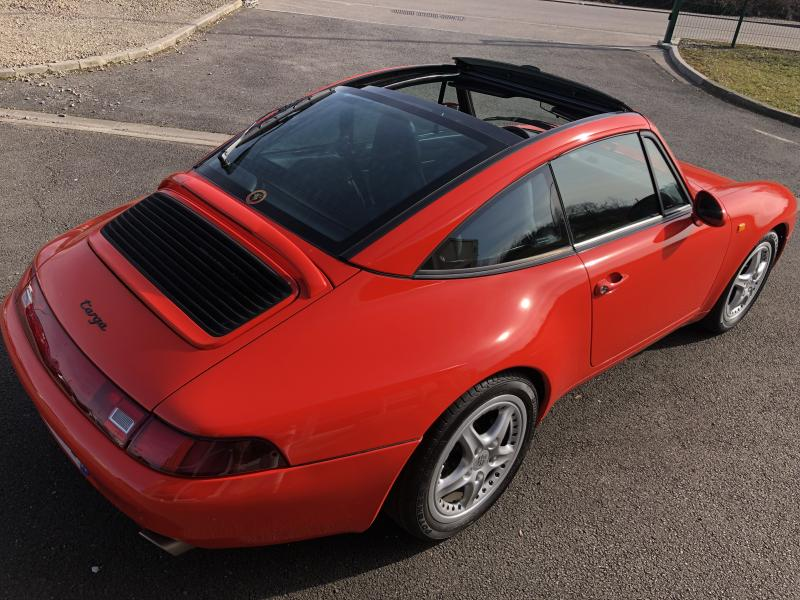 Porsche 993 targa / photo n°12