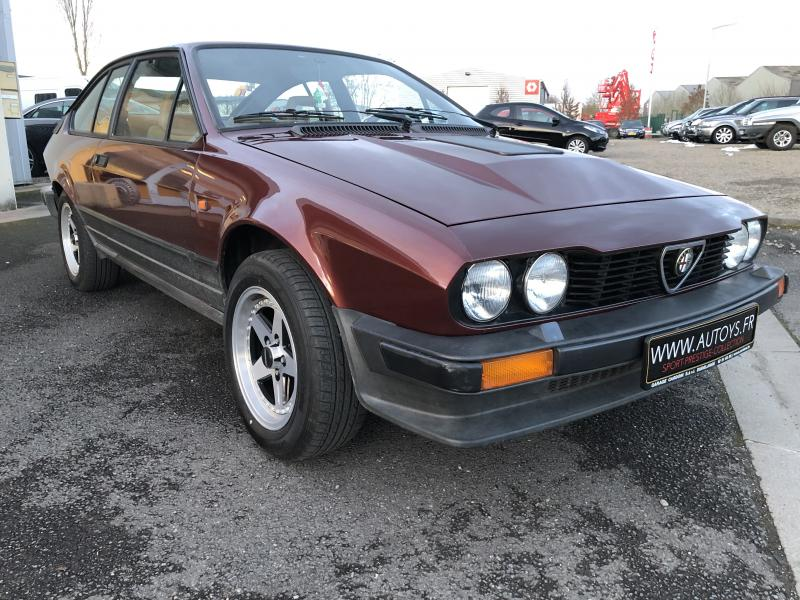 Alfa Roméo Alfetta GTV6 2.5 L / photo n°8