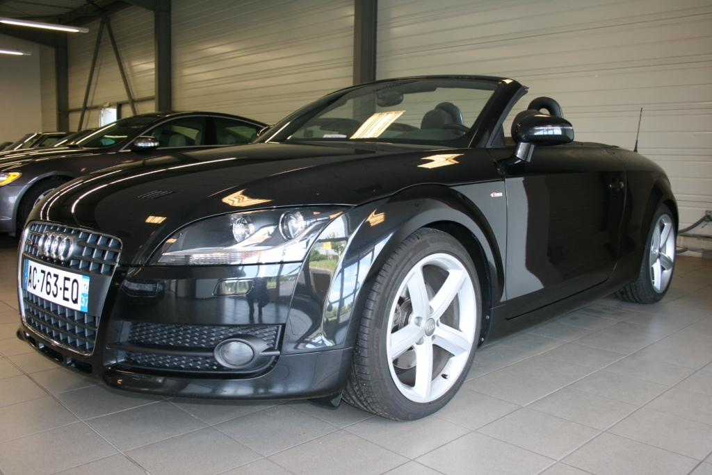 Illustration de Audi TT Roadster